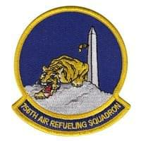 756th Air Refueling Squadron (756 ARS) Custom Patches