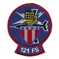 121st Fighter Squadron (121 FS) Custom Patches
