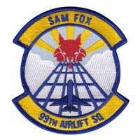 99th Airlift Squadron (99 AS) Custom Patches