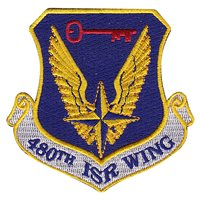 480 ISR Wing Patches