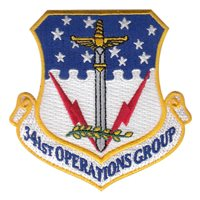 341st Operations Group (341 OG) Custom Patches