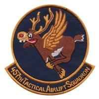 457th Airlift Squadron (457 AS) Custom Patches