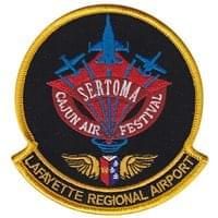 Sertoma Cajun Air Festival Custom Patches