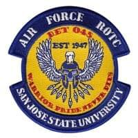 AFROTC Det 045 San Jose State University (AFROTC Det 045 SJSU) Custom Patches