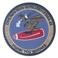 Marine Observation Squadron 4 (VMO-4) Custom Patches