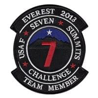 7 Summits Challenge Custom Patches