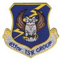 655th Intelligence, Surveillance and Reconnaissance Group (655 ISR GROUP) Custom Patches