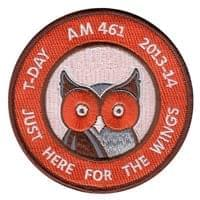 USAFA AM 461 Patches