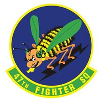 47th Fighter Squadron (47 FS) Custom Patches