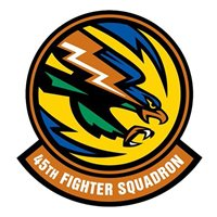 45th Fighter Squadron (45 FS) Custom Patches
