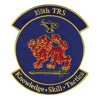 355th Training Squadron (355 TRS) Custom Patches