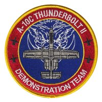 A-10 Demo Team Patches