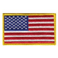 Custom Embroidered Flag Patches