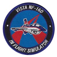 Calspan Corporation Vista F-16 Custom Patches