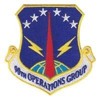 90th Operations Group (90 OG) Custom Patches