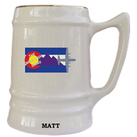 Peterson AFB Custom Squadron Mugs