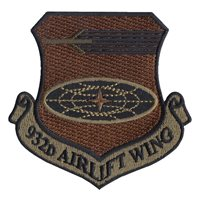 Scott AFB Custom Patches