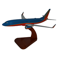 Southwest Airlines Wooden Airplane Model