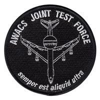 AWACS Joint Test Force Patches