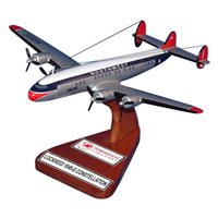Northwest Airlines Wooden Model