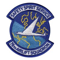 76th Airlift Squadron (76 AS) Custom Patches