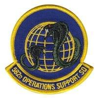 582d Operations Support Squadron (582 OSS) Custom Patches