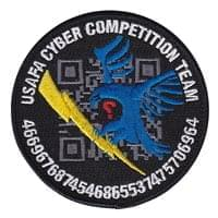 USAFA Cyber Warfare Comp Team Custom Patches