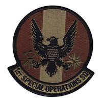 1st Special Operations Squadron (1 SOS) Custom Patches
