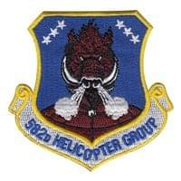 582d Helicopter Group (582 HG) Custom Patches