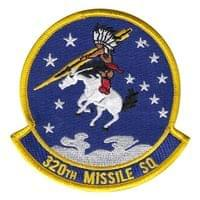 320th Missile Squadron (320 MS) Custom Patches