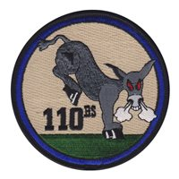 110th Bomb Squadron (110 BS) Custom Patches