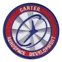Carter Aerospace Development Custom Patches