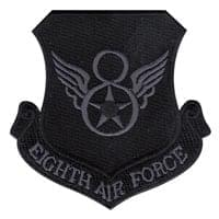 8th Air Force (8 AF) Custom Patches