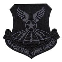 Air Force Global Strike Command (AFGSC) Custom Patches