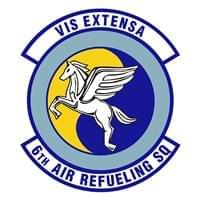 6th Air Refueling Squadron (6 ARS) Custom Patches