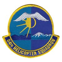 54th Helicopter Squadron (54 HS) Custom Patches