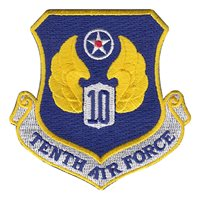 Tenth Air Force (10 AF) Custom Patches
