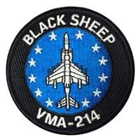 Marine Attack Squadron 214 (VMA-214) Custom patches