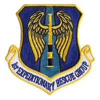 1st Expeditionary Rescue Group (1 ERQG) custom patches
