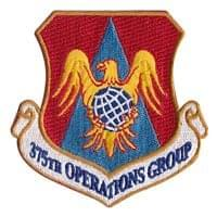357th Operations Group Custom Patches at Wright-Patterson AFB, OH.