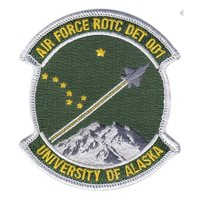 AFROTC Det 001 Alaska University Patches