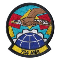 734 AMS Patches