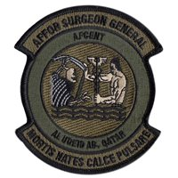 AFCENT Custom Patches