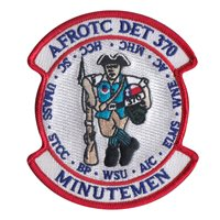 AFROTC Det 370 University of Massachusetts Custom Patches