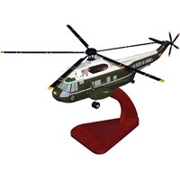 VH-3A Sea Kings Custom Wooden Helicopter Models