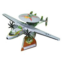 E-2 Hawkeye Custom Wooden Aircraft Models