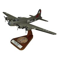 B-17G Flying Fortress Wooden Model