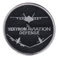 Textron Aviation Defense Patches