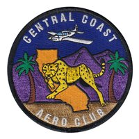Central Coast Aero Club Custom Patches