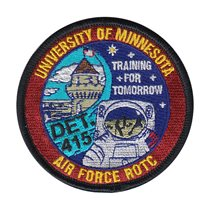 AFROTC Det 415 University of Minnesota Patches